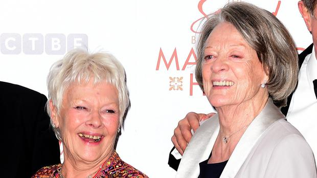 Dames Judi Dench and Maggie Smith (Ian West/PA)