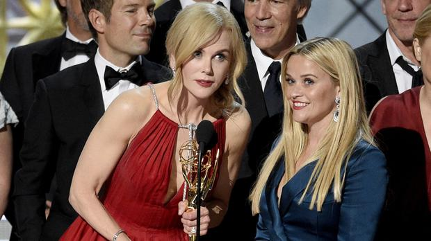 Nicole Kidman and Reese Witherspoon,