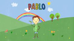 Pablo is a five-year-old boy on the autistic spectrum in a new TV show (BBC/PA)