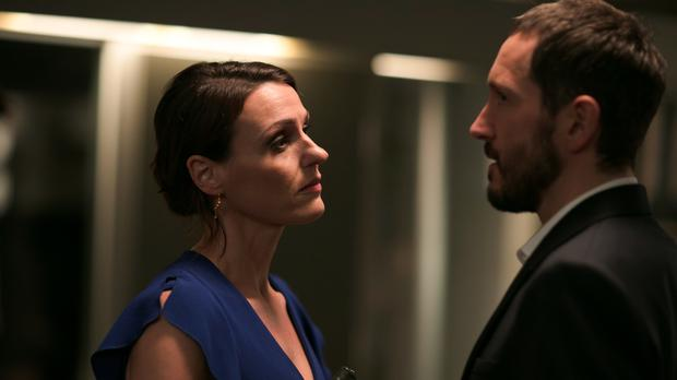 Simon (Bertie Carvel) and Gemma (Suranne Jones) in Doctor Foster