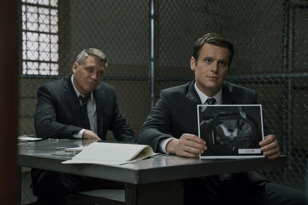 Holt McCallany, Jonathan Groff