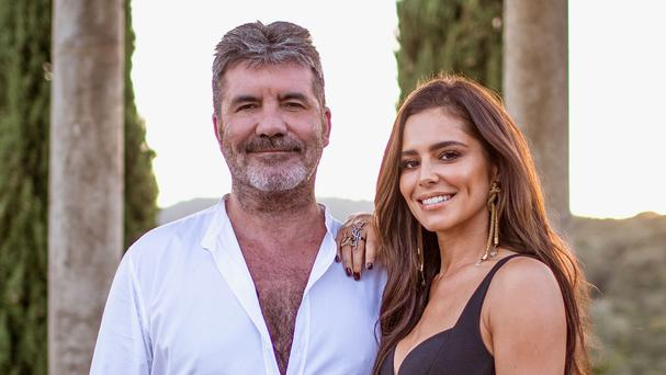 Cheryl and Simon Cowell