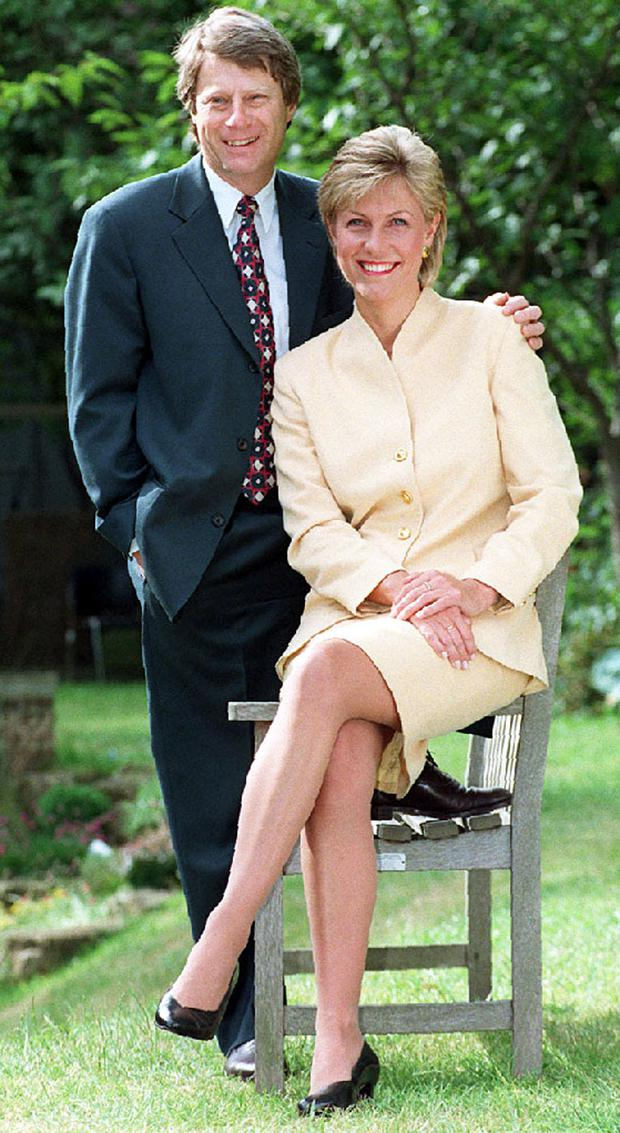 Crimewatch UK presenters Nick Ross and the late Jill Dando