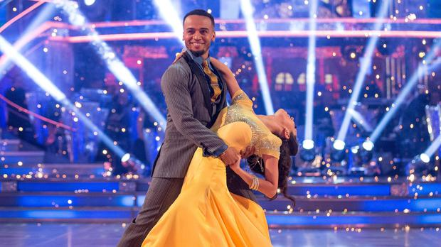 Aston Merrygold was eliminated from Strictly