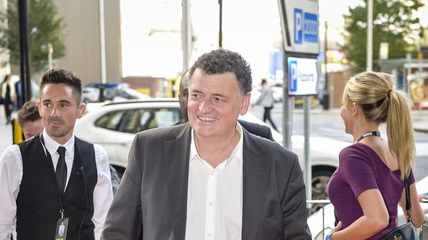 Doctor Who writer Steven Moffat