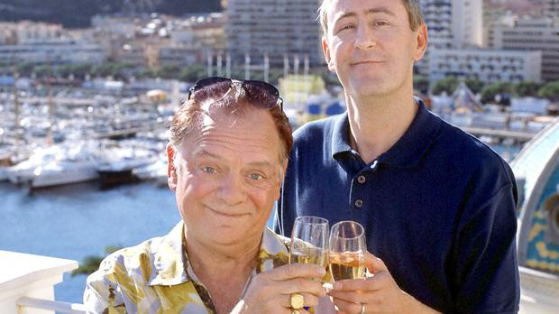 Del Boy (David Jason) and Rodney (Nicholas Lyndhurst) in the 2001 Only Fools and Horses Christmas special (PA Images)