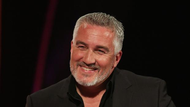Paul Hollywood entered into the festive spirit