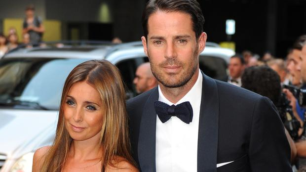Louise and Jamie Redknapp attend the GQ Men of the Year Awards (Anthony Devlin/PA)