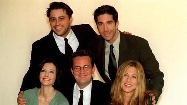 Stars of the American sitcom Friends at a photocall in London (Neil Munns/PA)