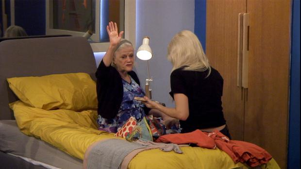 Ann Widdecombe on Celebrity Big Brother (Channel 5)