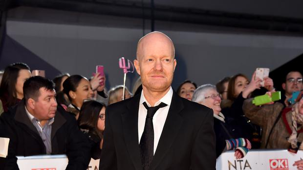 EastEnders actor Jake Wood was at the heart of the Christmas episode (Matt Crossick/PA)