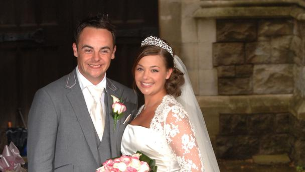 Ant McParlin and Lisa Armstrong (Ian West/PA)