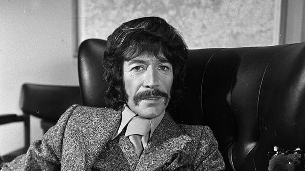 Peter Wyngarde in a Jason King episode (ITV/REX/Shutterstock/PA)