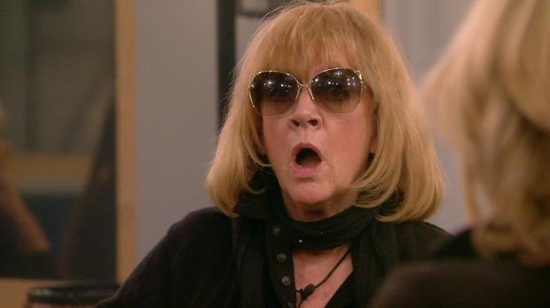 Amanda Barrie is up for eviction (Channel 5)