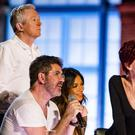 X Factor judges Louis Walsh, Simon Cowell, Nicole Scherzinger and Sharon Osbourne (Syco/Thames TV)