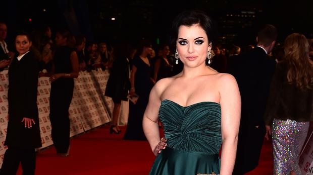 Shona McGarty reveals engagement and wedding plans (Ian West/PA)