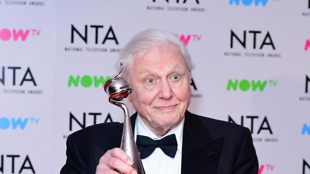 Sir David Attenborough (Ian West/PA)