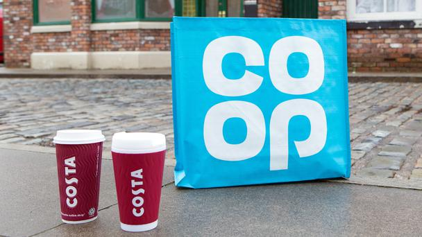 Costa Coffee and Co-op to feature on Coronation Street from spring 2018 (ITV)