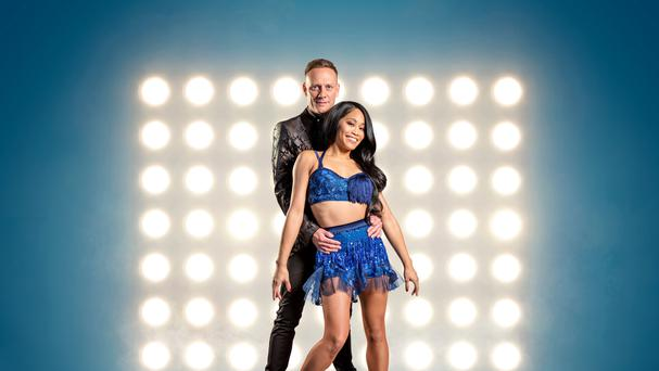 Antony Cotton and Brandee Malto are competing in Dancing On Ice (Steve Brown/ITV)