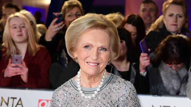 Mary Berry (Ian West/PA)