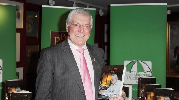 Peter Purves , who presented Blue Peter and appeared in the early days of Doctor Who (Zak Hussein/PA)