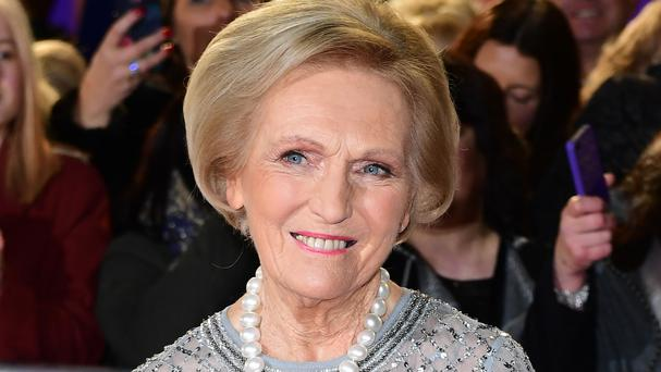 Mary Berry set tongues wagging with the first steamy episode of her latest TV cooking venture Classic Mary Berry (PA)