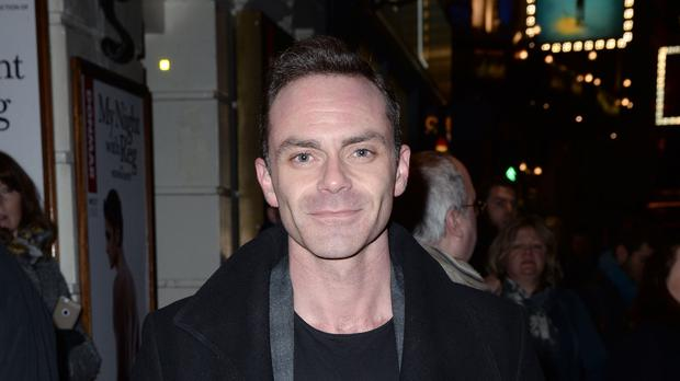 Daniel Brocklebank's character Billy Mayhew has descended into drug addiction (Anthony Devlin/PA)