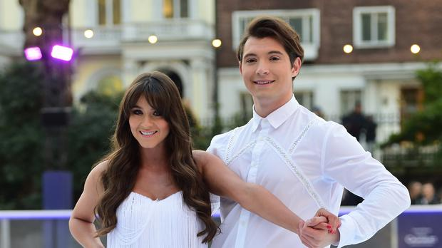 Brooke Vincent and Matej Silecky