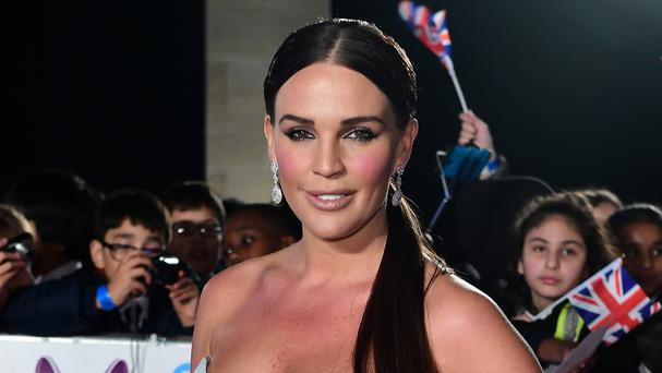 Danielle Lloyd revealed that she was sent cruel remarks about her weight (Ian West/PA)
