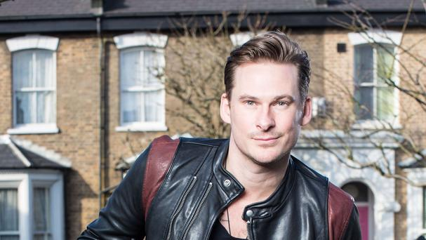 Lee Ryan in EastEnders (BBC/Jack Barnes)