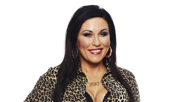 Kat Slater makes Walford return with lip gloss and leopard print