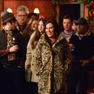 Kat Slater returns to the Queen Vic. (Kieron McCarron/BBC)