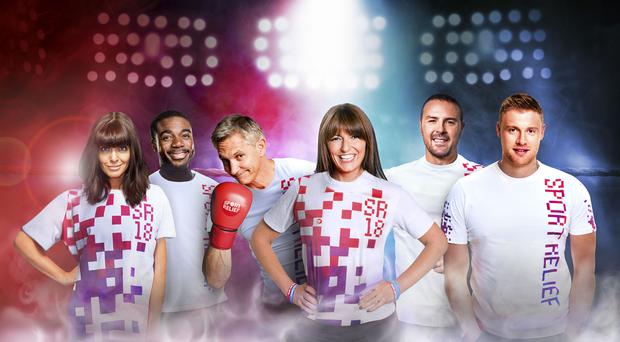 Kylie Minogue and other stars kick off Sport Relief 2018