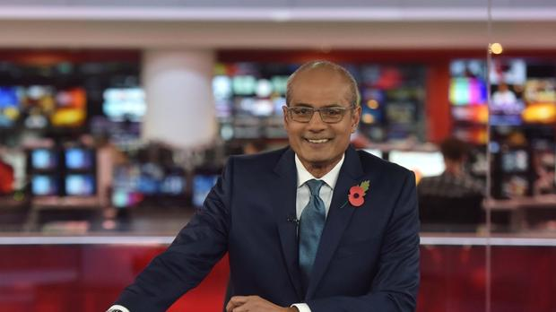 George Alagiah says his cancer has returned (Jeff Overs/BBC/PA)