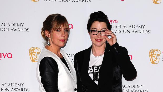 Mel Giedroyc (left) and Sue Perkins (Ian West/PA)