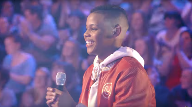 Donel Mangena has been invited to perform for the Queen by Prince Harry. (ITV/TheVoice)