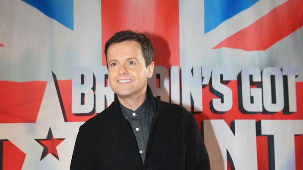 Declan Donnelly thanked the audience (Peter Byrne/PA)