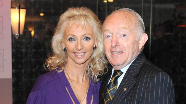 Debbie McGee marks 30 years since here wedding day (Ian West/PA)