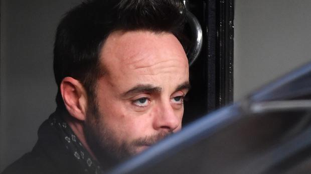Ant McPartlin was due to appear at Wimbledon Magistrates' Court on Wednesday (John Stillwell/PA)
