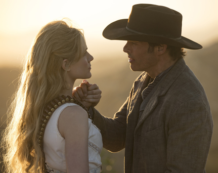 Robot wars Dolores Abernathy returns alongside Teddy Flood in Westworld