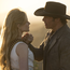 Robot wars: Dolores Abernathy (Evan Rachel Wood) returns alongside Teddy Flood (James Marsden) in Westworld