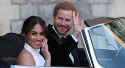 The Duke and Duchess of Sussex (Steve Parsons/PA)