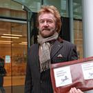 Noel Edmonds is campaigning after his business collapsed (Jonathan Brady/PA)