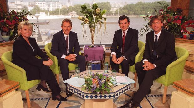 Tony Blair and Gordon Brown appeared on the programme in 1999