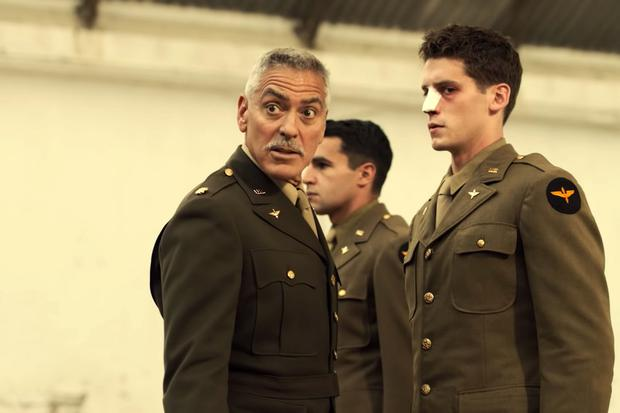 George Clooney stars in his new series Catch-22 on Channel 4 tonight