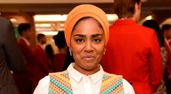 Pain: Nadiya Hussain won the British baking show in 2015 and went on to write a cookbook aimed at children. Photo: PA