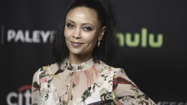 "Thandie Newton attends the 34th annual PaleyFest: ""Westworld"" event at the Dolby Theatre on Saturday, March 25, 2017, in Los Angeles. (Photo by Richard Shotwell/Invision/AP)"