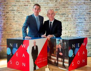 Ryan Tubridy and Ray Darcy at the RTÉ new season launch