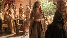 Costume drama: Game of Thrones is a mixture of wobby bits, slashed throats and nice clothes