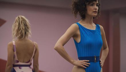 Rose Byrne plays the singularly unpleasant Sheila in the dark and unappealing comedy-drama Physical